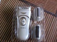 3-in-1 Elektrischer Epilierer / Hornhautentferner / Rasierer für Sanfte Beine und Füße und Hautpflege im Test...