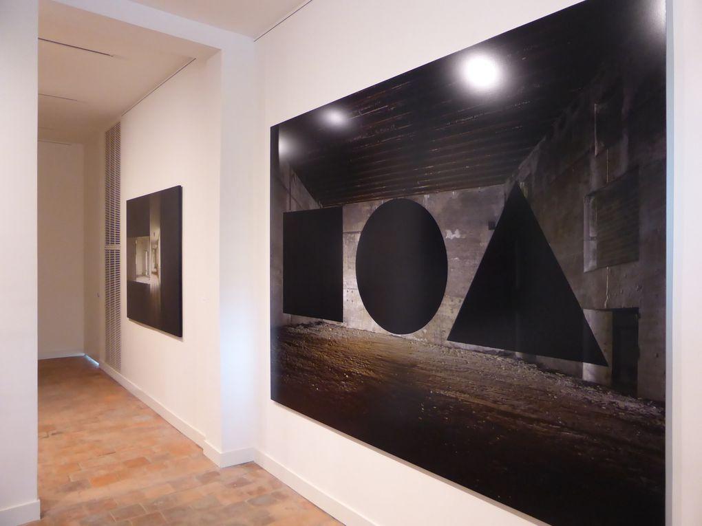 Utopia.Georges Rousse. Vues de l'exposition, Familistère de Guise © Le Curieux des arts Gilles Kraemer, présentation presse, mai 2015