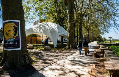 Réouverture de la Paillote poétique d'Orléans le 24 avril : Tout est possible QUAI DES ARTS jusqu'au 26 septembre