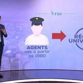 Le vrai du faux sur les cheminots concernés par la réforme des retraites - Le journal de 20h | TF1
