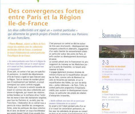 Extramuros, une publication pour penser les relations Banlieues/Paris & le Grand Paris/la métropole. années 2000 N°5