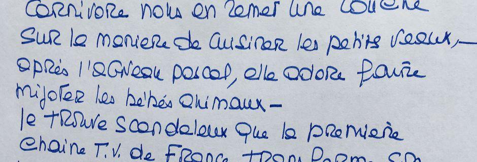 "Brigitte Bardot ""Rebelotte au 13h de TF1 !"""