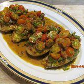 Blancs de poulet Margherita - www.sucreetepices.com