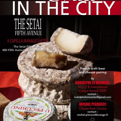 CHEESE IN THE CITY