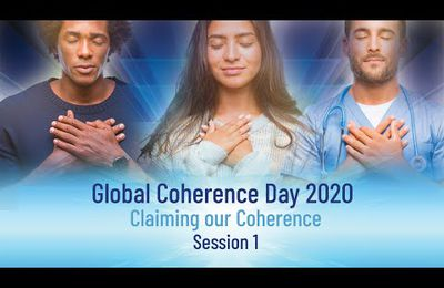 Pris sur youtube : lobal Coherence Day 2020 - Session #1