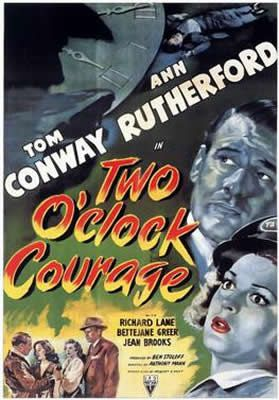 Two O'Clock Courage d'Anthony Mann
