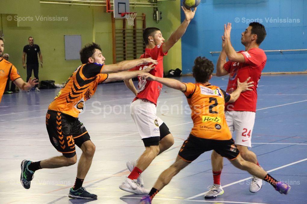 Vénissieux Handball a fat la décision dans kes deux dernières minutes de jeu