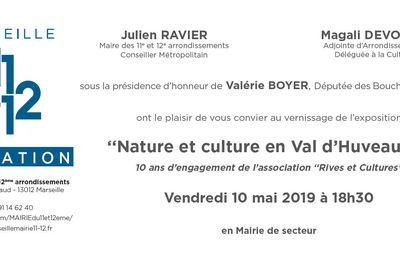 Affiche de l'exposition Nature et culture en Val d'Huveaune