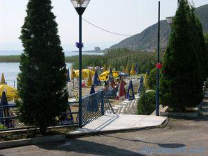 Lac d'Orhid (Albanie en camping-car)