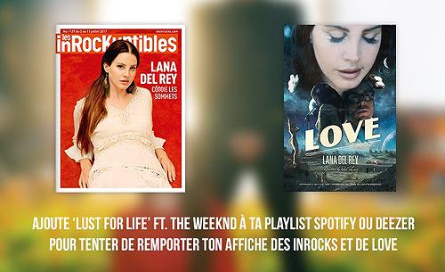 Concours: gagnez des cadeaux avec Lana Del Rey France et Polydor