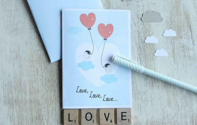 Pour Valentin ou valentine {Printable}