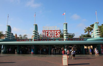 Summer of Heroes, Disney California Adventure
