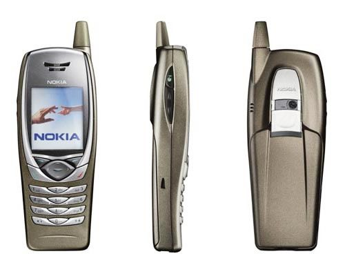 nokia 6650 3G colection mobilophiles