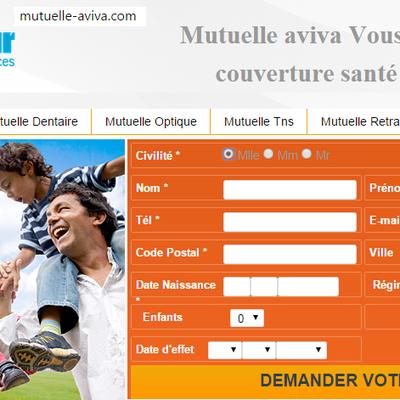 Mutuelle-aviva.com un outil simple de comparaison en ligne