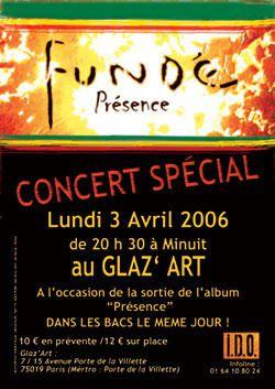 Les flyers des soir&eacute;es reggae d'avril 2006<br />