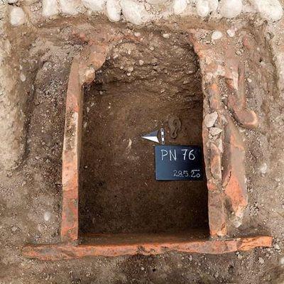 Slovénie : Découverte d'un cimetière romain