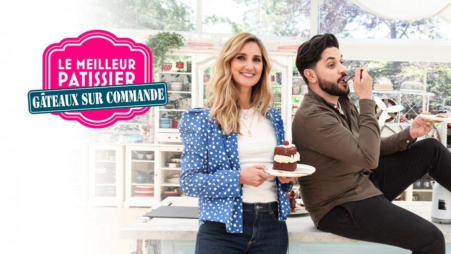 """Marie Portolano et Merouan aux commandes de """"Le meilleur pâtissier : Gâteaux sur commande"""" dès ce soir sur M6"""