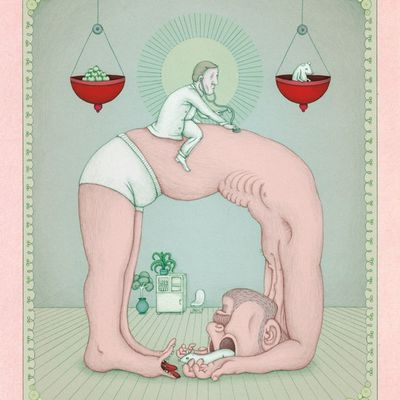 Les dessins tordus de Benedikt Notter