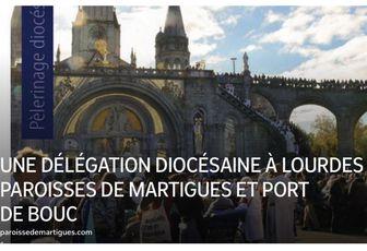 UNE DÉLÉGATION DIOCÉSAINE À LOURDES