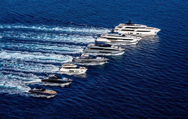 Ferretti presents 5 new yachts on Yachting Festival