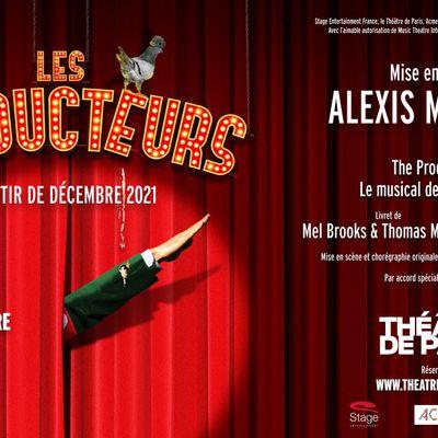 LES PRODUCTEURS Le Musical de Mel Brooks au Théâtre de Paris en Décembre 2021