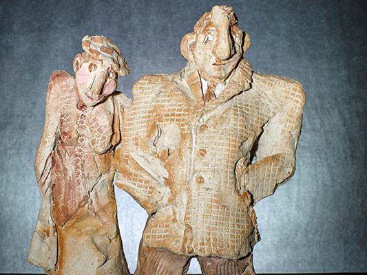 Sculpture de Brigitt Fleury