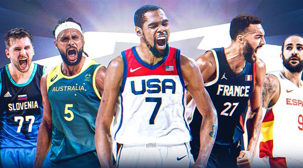 La FIBA dévoile le meilleur cinq du tournoi olympique masculin 2020