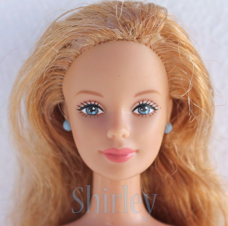 """CORDUROY COOL"" or ""CHIC"" BLONDE BARBIE DOLL 1998 MATTEL #24658"