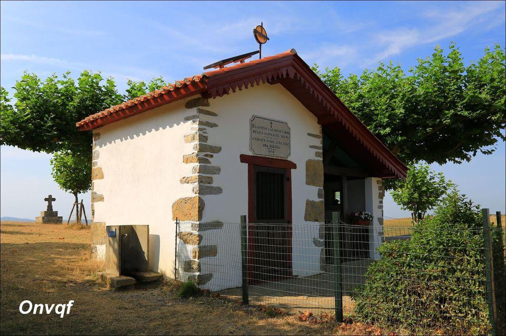 Rando chapelle de Soyarza depuis Orsanco AA