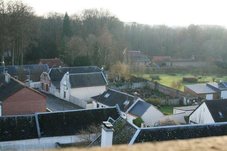 Vue panoramique du clocher de notre église Saint Géry