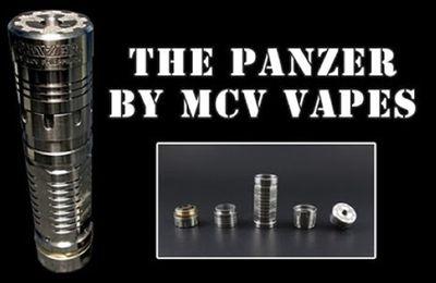 Les légendes de la vape - Mod - The Panzer de chez MCV Philippines