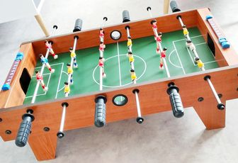 Ma collaboration avec  CoolGift : baby-foot de table