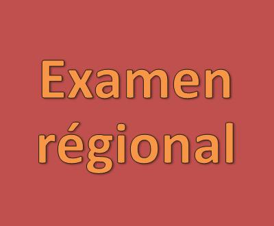 Correction de EXAMEN RÉGIONAL chapitres 18 et 19 )