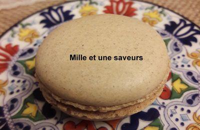 Macarons avec de la farine de sarrasin et sans poudre d'amandes