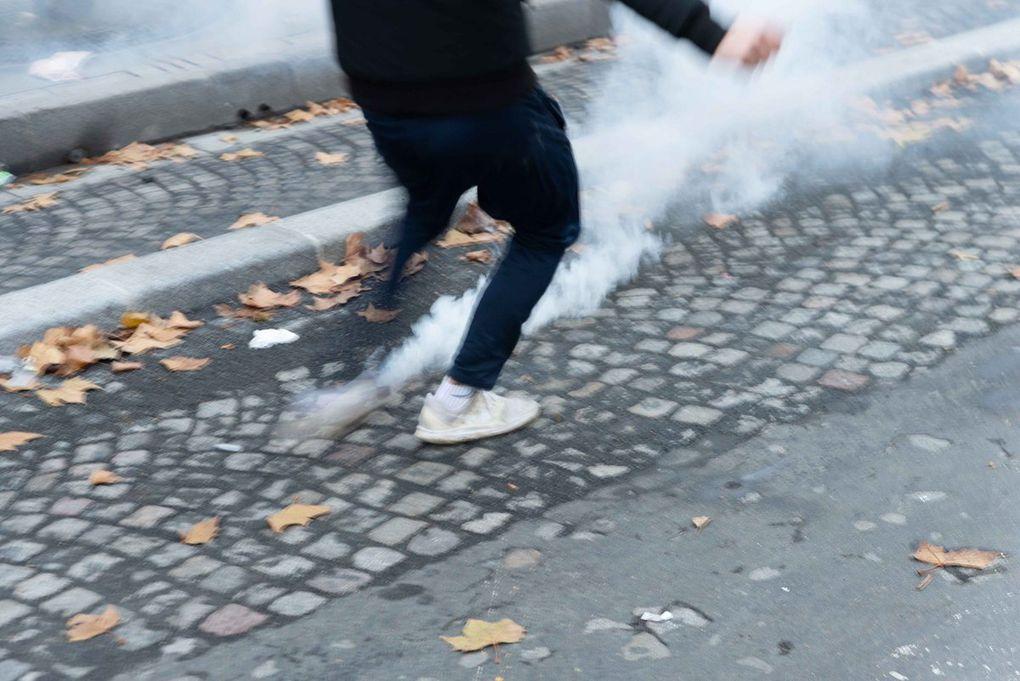 Gilets Jaunes - Champs Elysée 24 novembre 2018