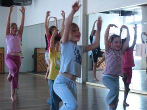 """Stage enfants """"Danse et jeux d'écritures"""" - Hiver 2010"""