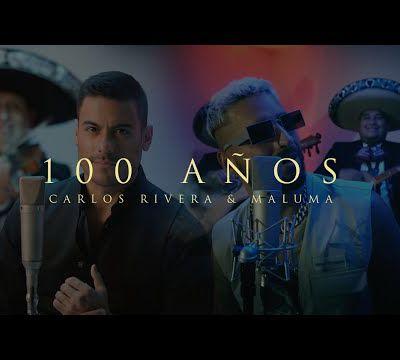 Avec du mariachi! Maluma rejoint Carlos Rivera et ils sortent la chanson '100 años'