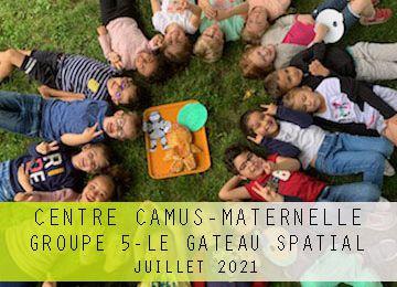 Centre Camus Maternelle-Groupe 5-Atelier culinaire-Gâteau spatial
