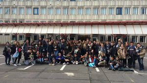 4 pays 90 jeunes... c'est au collège Erasmus+ Boris Vian