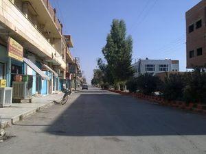 Rues de Kobanê, par Ferhad