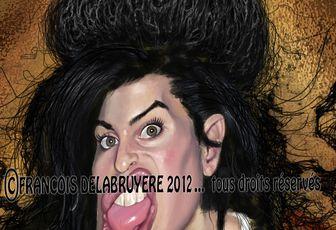 Amy Winehouse....travail en cours.