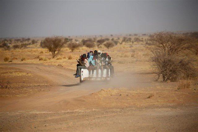 Imágenes de Senegal.- El Muni.