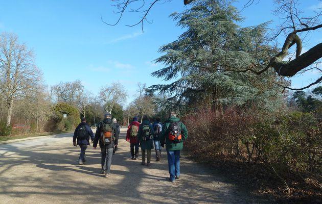Randonnée de Meudon à Levallois-Perret - 22 km..