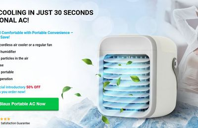 Blaux Portable AC- Portable Air Conditioner for This Summer Heat! Reviews, Price, Buy