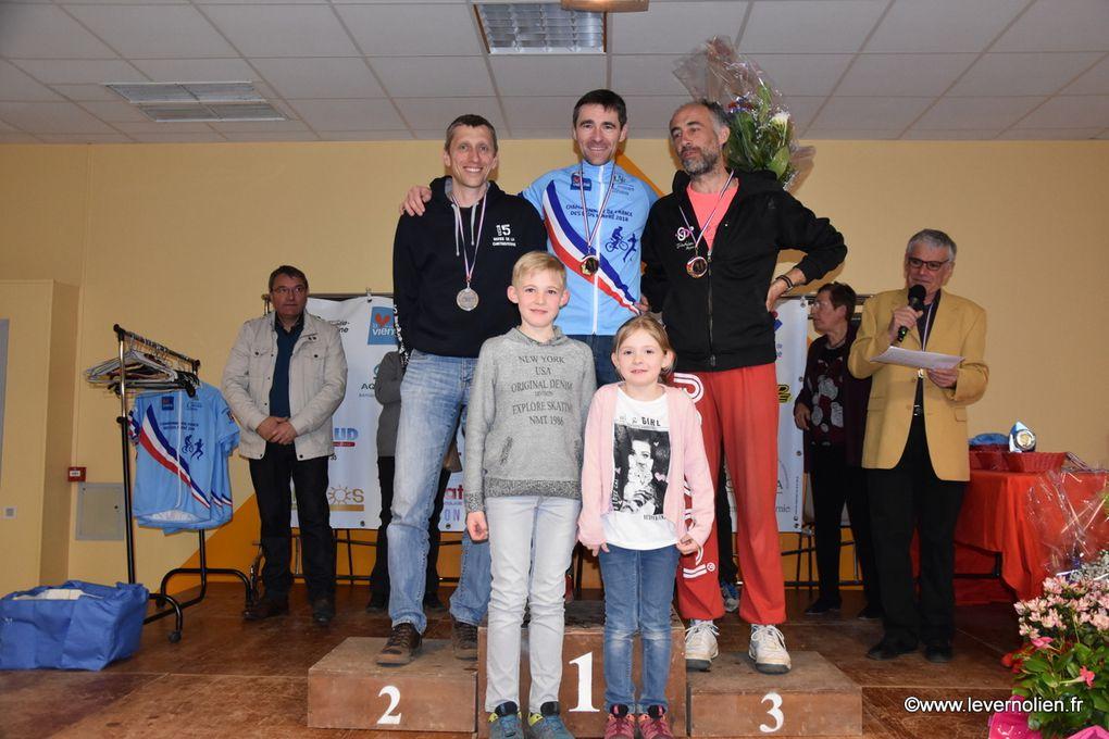 Championnat National VTT et course a pied des élus 2018