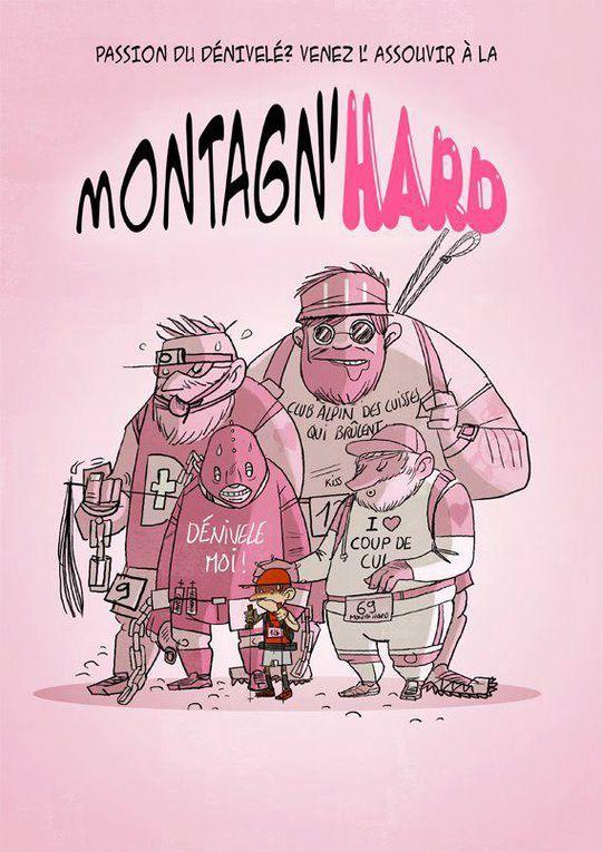 La Montagn'Hard, « faire découvrir des points de vue magnifiques » Olivier Tribondeau