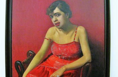 Félix Valloton, La roumaine à la robe rouge