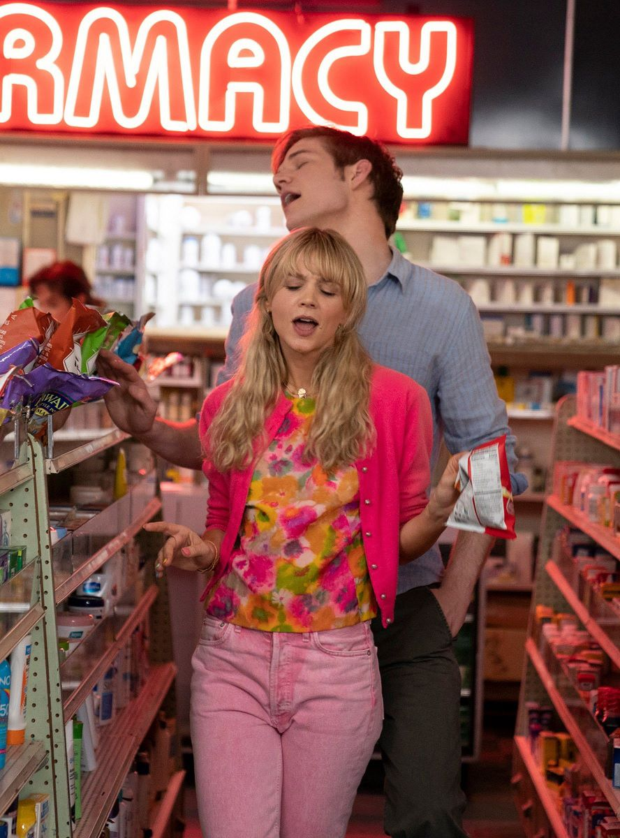 """When they talk about """"going to the pharmacy for the first time"""", the movie has spectators wonder whether Cassie and Ryan are going to have sex as it's hard to imagine why they would go to a pharmacy beyond buying condoms. But the pharmacy is a shop that sells """"toys"""" and sweats. Cassie and Ryan replace sex with something childish and immature."""