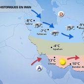 Téhéran enneigé, écoles et aéroports fermés ! (photos, vidéos) - MOINS de BIENS PLUS de LIENS