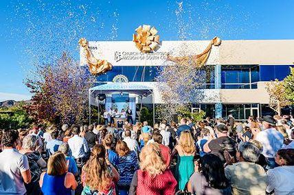 Einweihung des neuen Gebäudes der Scientology-Mission in Lake Forest, Kalifornien